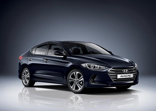 Hyundai Avante a/k/a Hyundai Elantra.