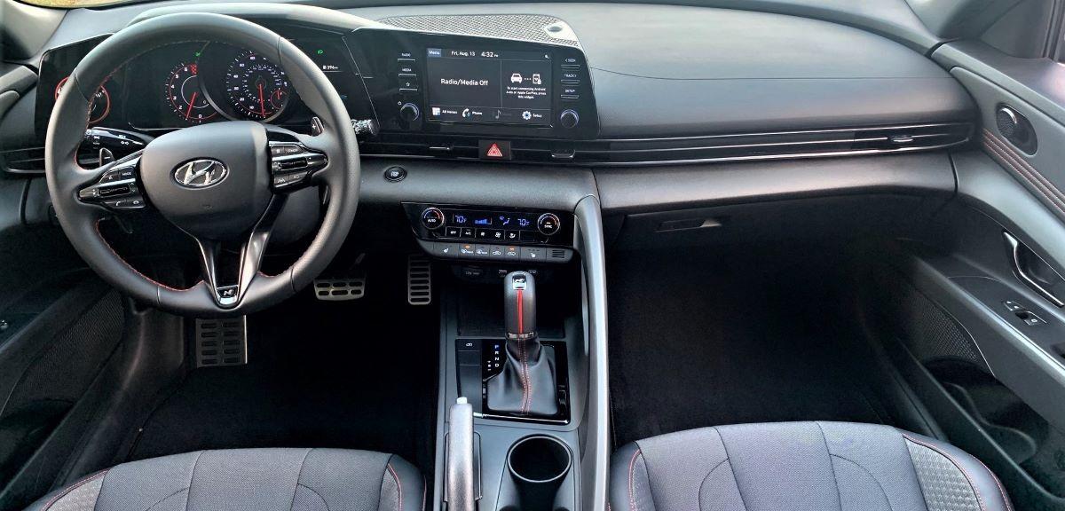 2021 Hyundai Elantra N Line tech