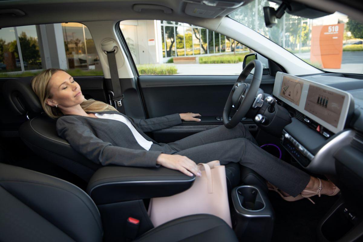 2022 Hyundai Ioniq 5 seats