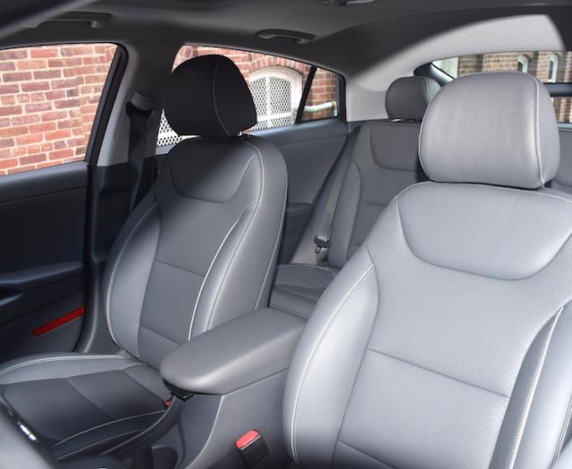 2017 Hyundai Ioniq Hybrid.