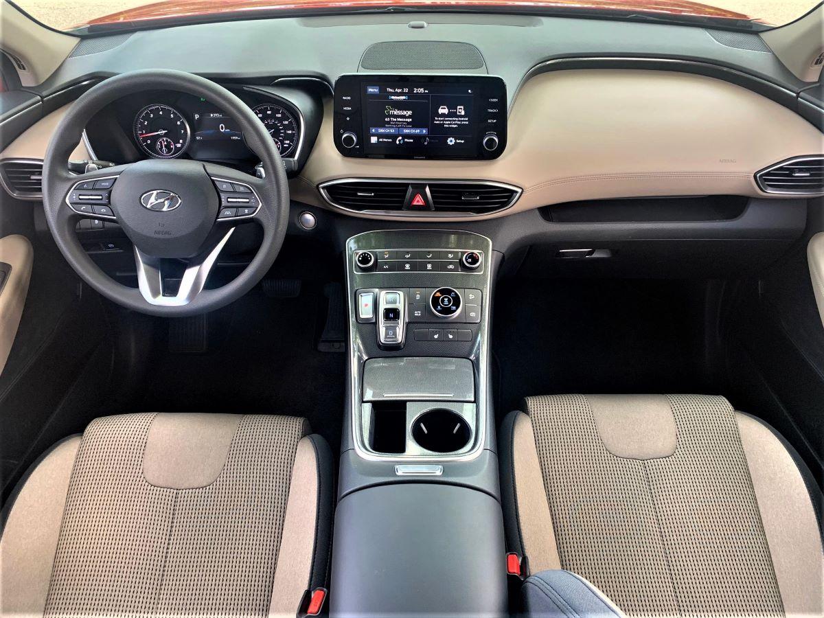 Hyundai Santa Fe SEL technology