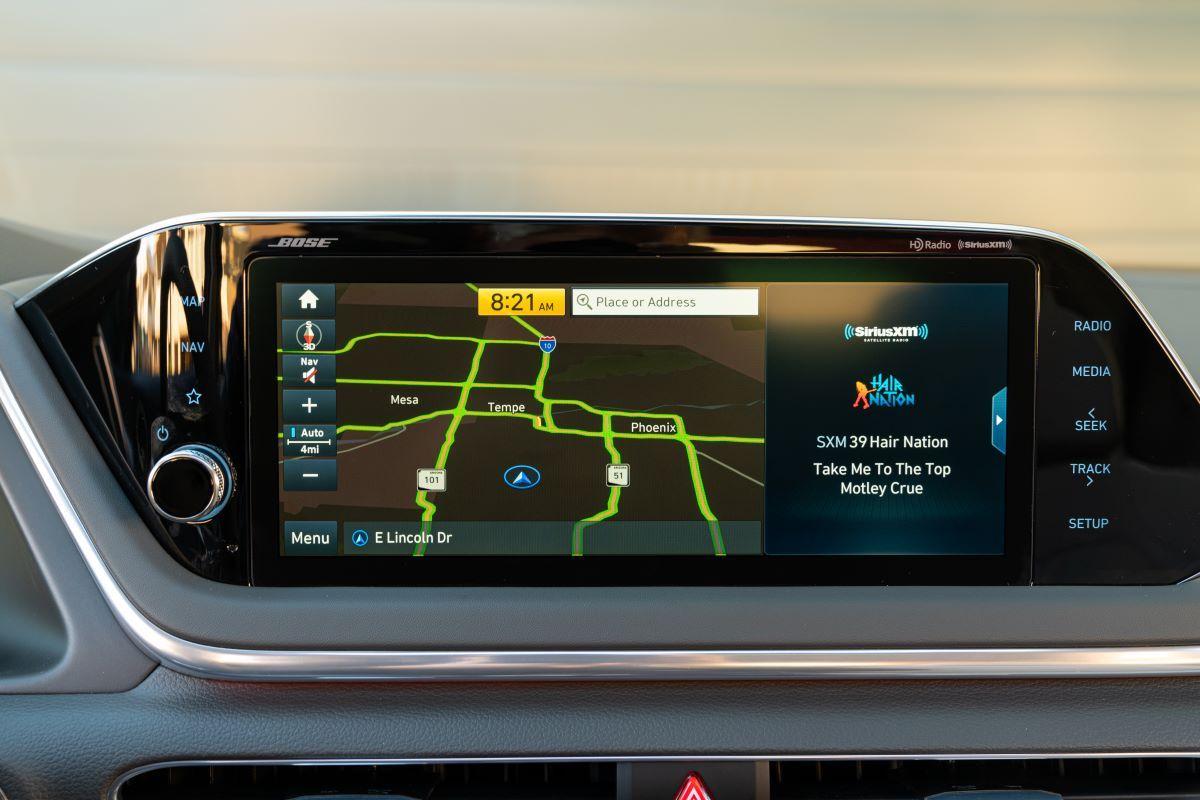 2021 Hyundai Sonata display screen