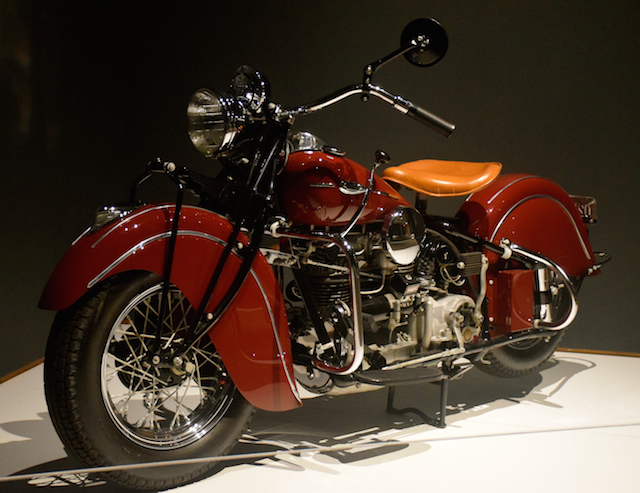 1941 Indian Model 441 motorcycle.