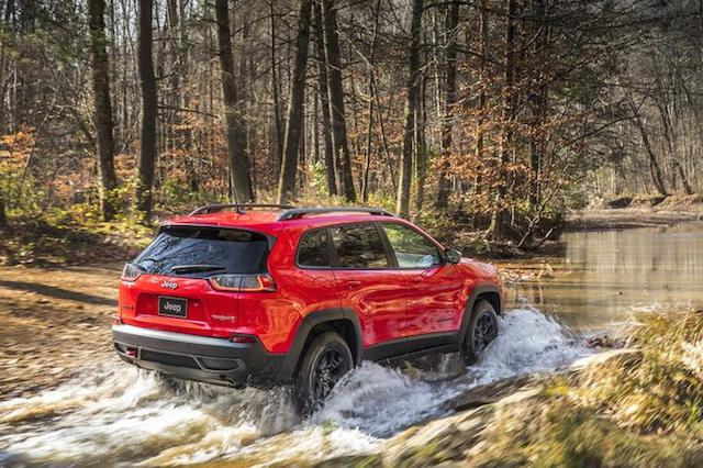 2019 Jeep Cherokee Trailhawk.