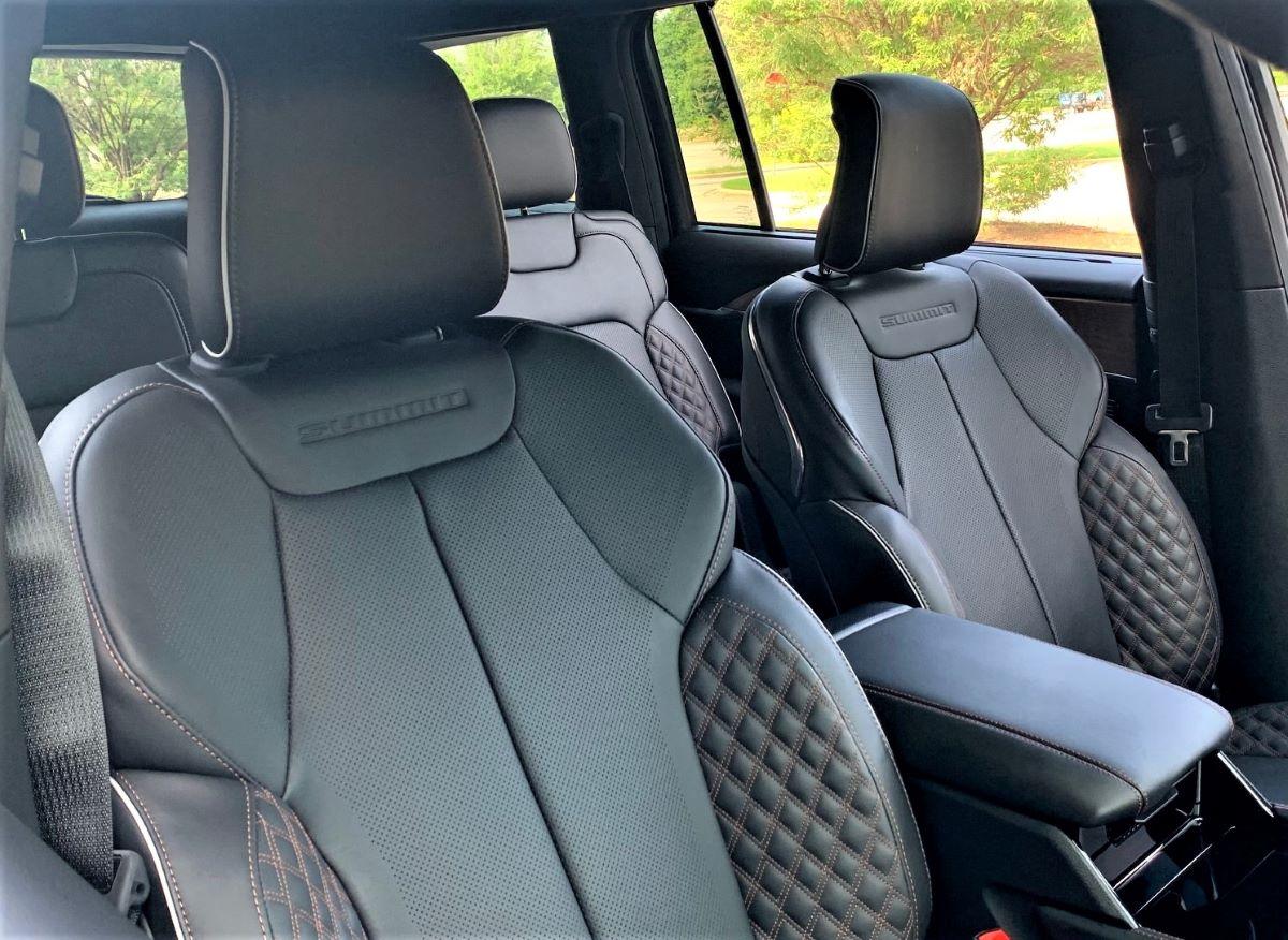 2021 Jeep Grand Cherokee L seats