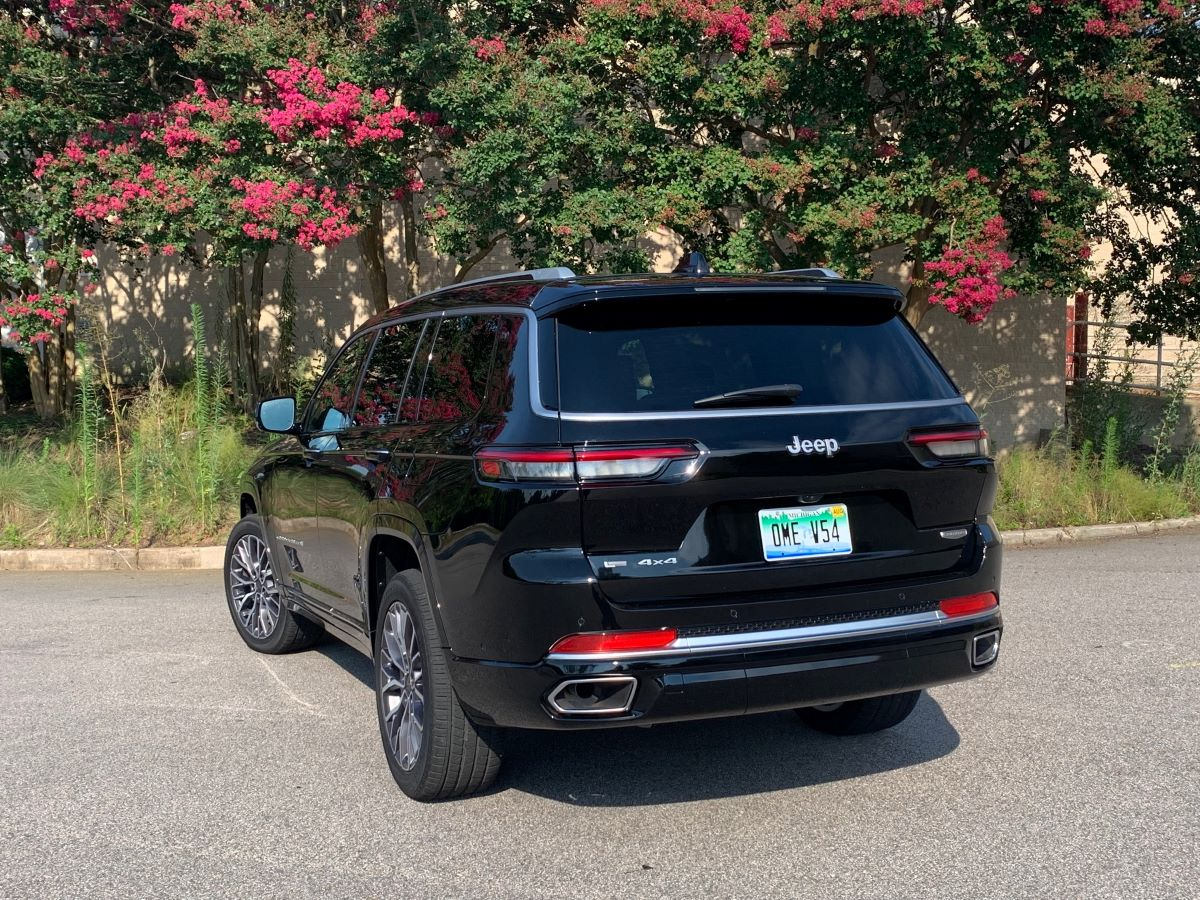 2021 Jeep Grand Cherokee L rear