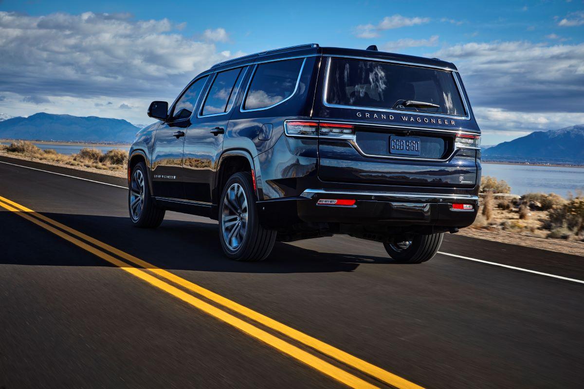 2022 Jeep Grand Wagoneer utility vehicle