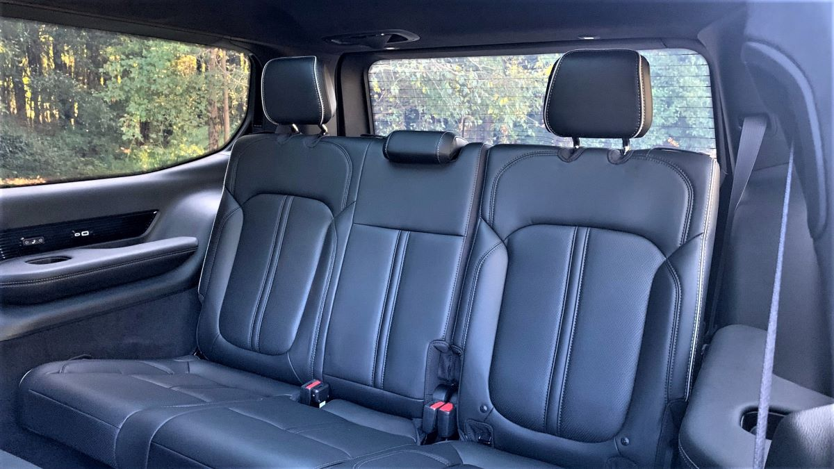 2022 Jeep Grand Wagoneer third-row seats
