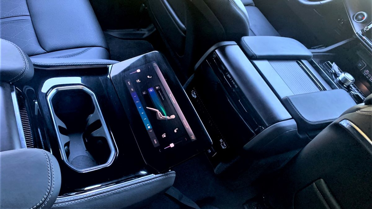 2022 Jeep Grand Wagoneer consoles