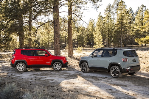 2015 Jeep Renegade.