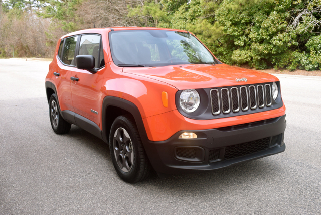 2016 Jeep Renegade.