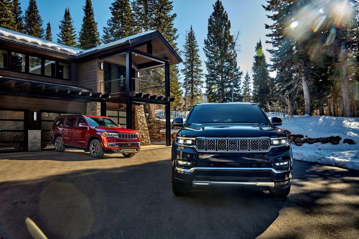 2022 Jeep Wagoneer and Jeep Grand Wagoneer