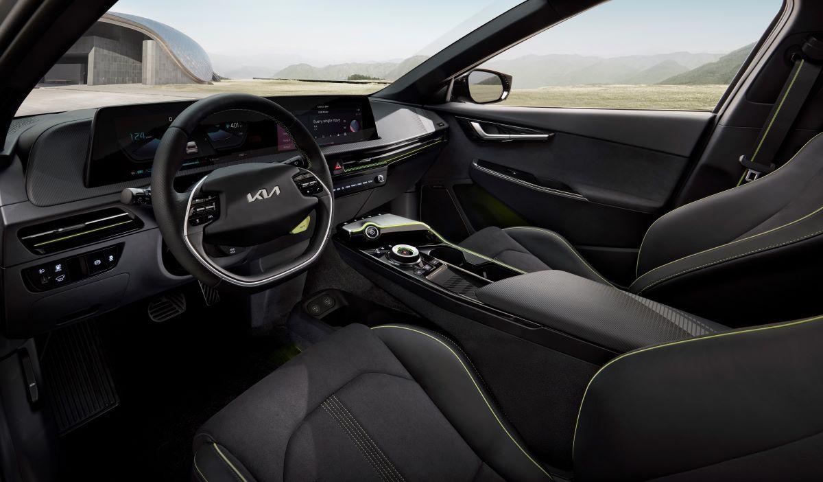 Kia EV6 electric four-door