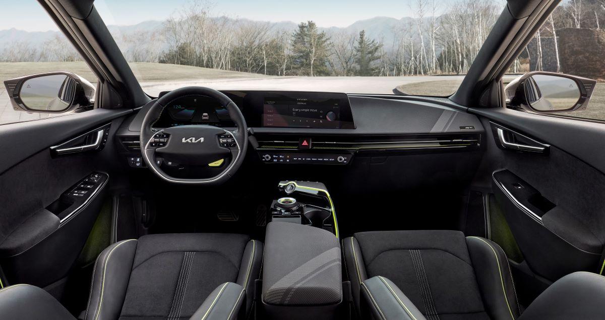 Kia EV6 electric hatch