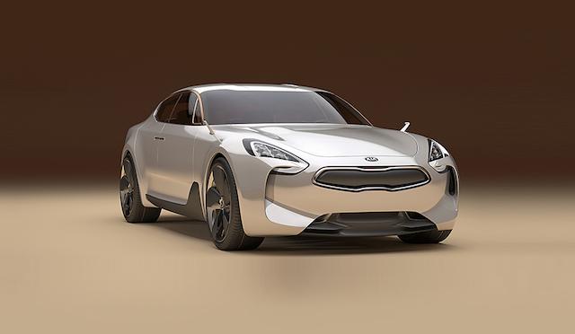 Kia GT Concept.