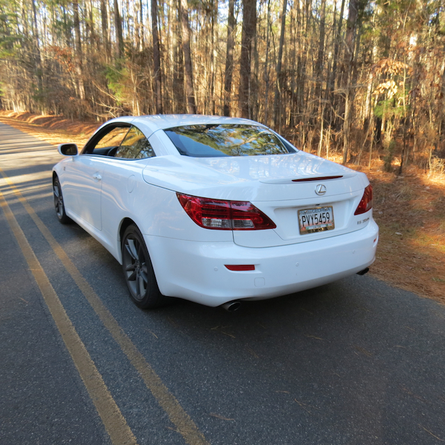 Lexus Sports Car Convertible: Coupe Or Convertible: Lexus IS 350 C F Sport