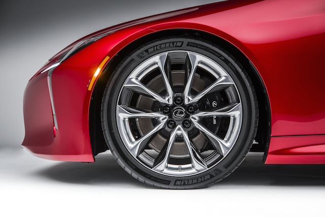 2018 Lexus LC 500.