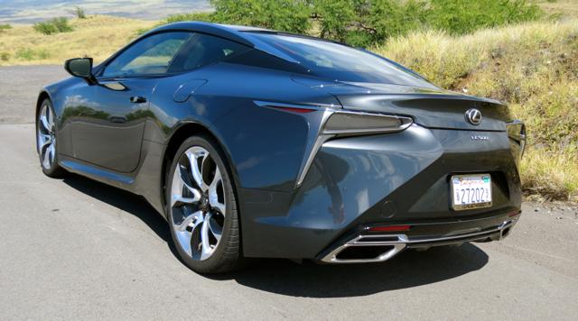 Lexus LC 500.