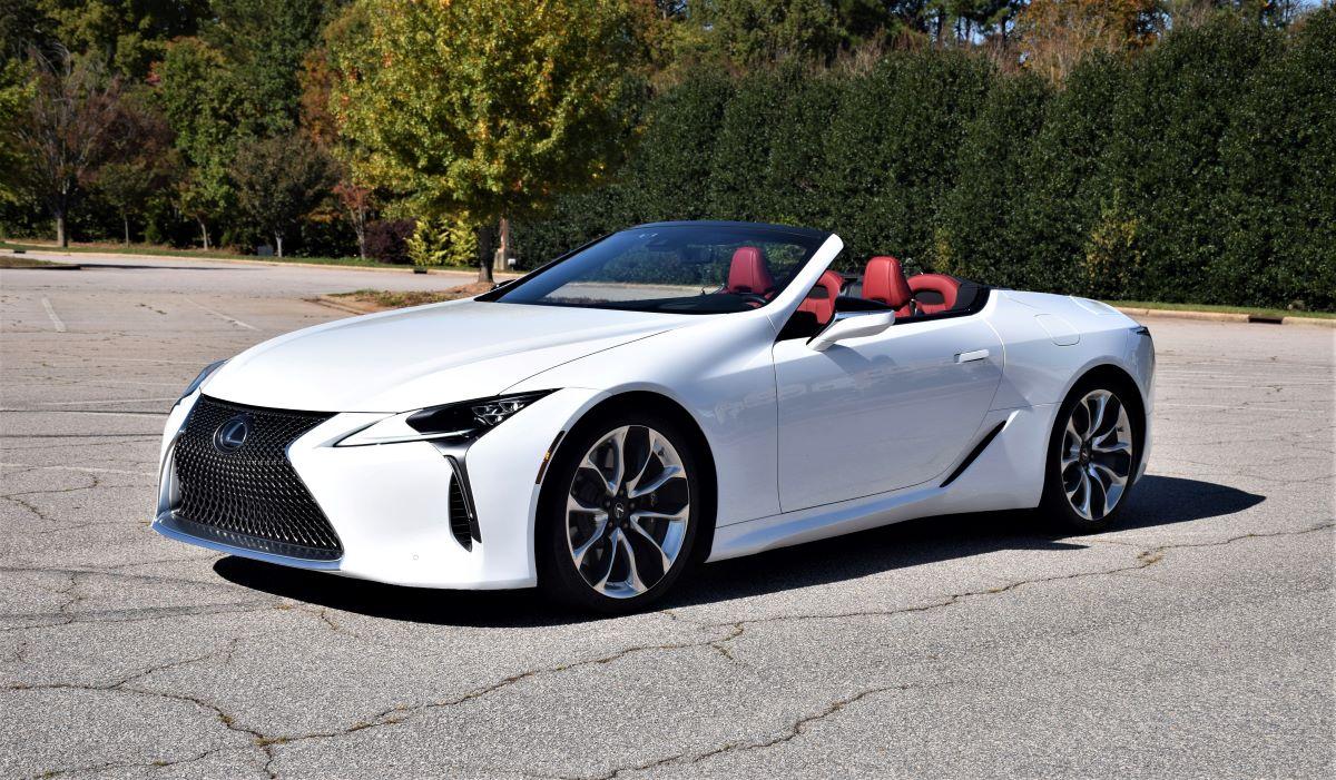 2021 Lexus LC 500 Convertible profile