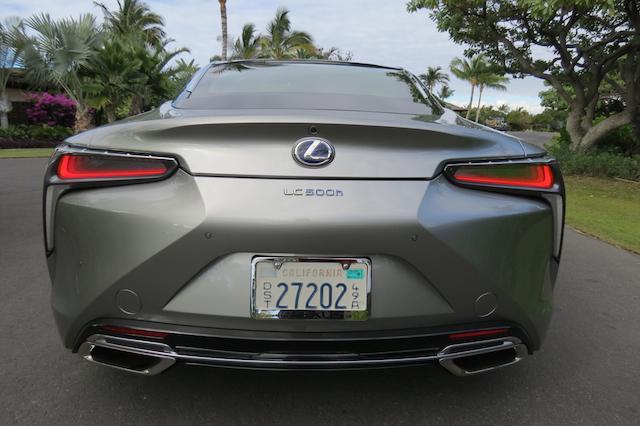 2018 Lexus LC 500h.