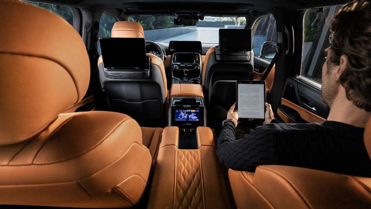2022 Lexus LX 600 Dashboard