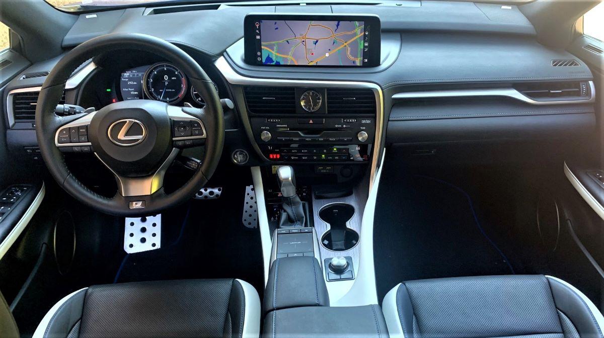 2022 Lexus RX dashboard