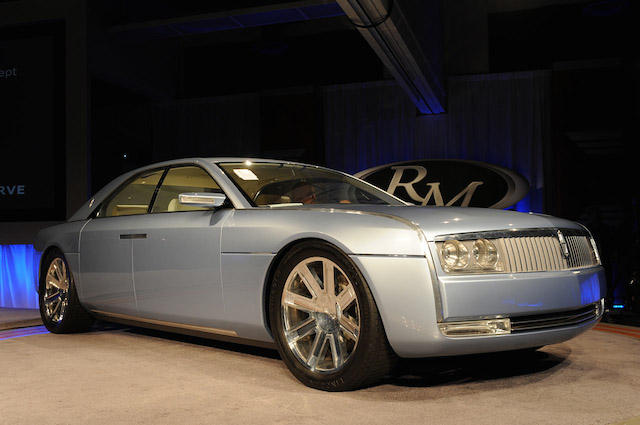 Lincoln Continental concept car.