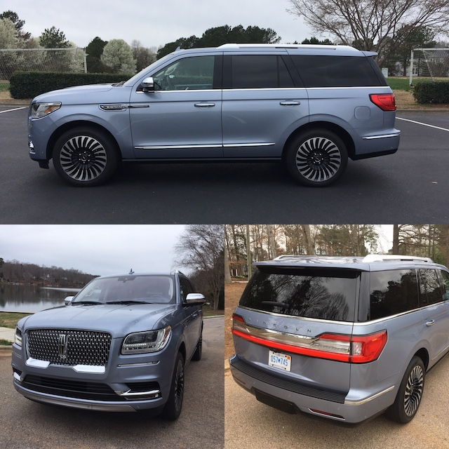 2018 Lincoln Navigator Black Label.