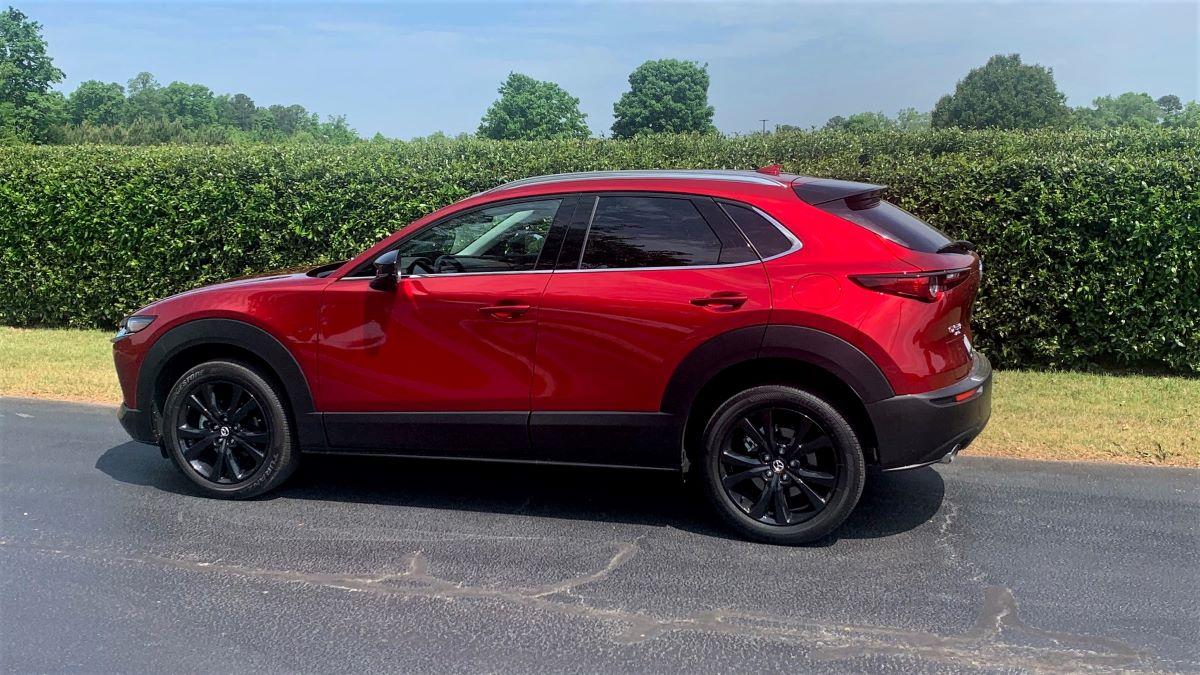 2021 Mazda CX-30 profile