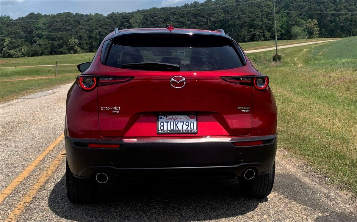 2021 Mazda CX-30 rear fascia