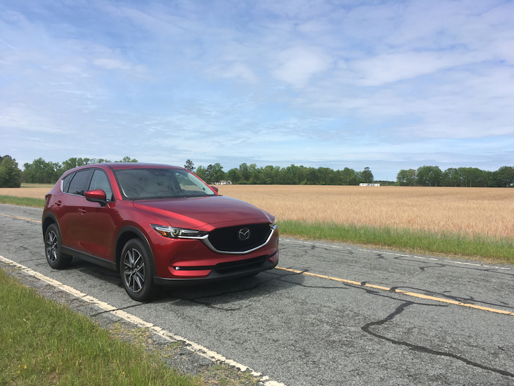 2018 Mazda CX-5 Grand Touring.