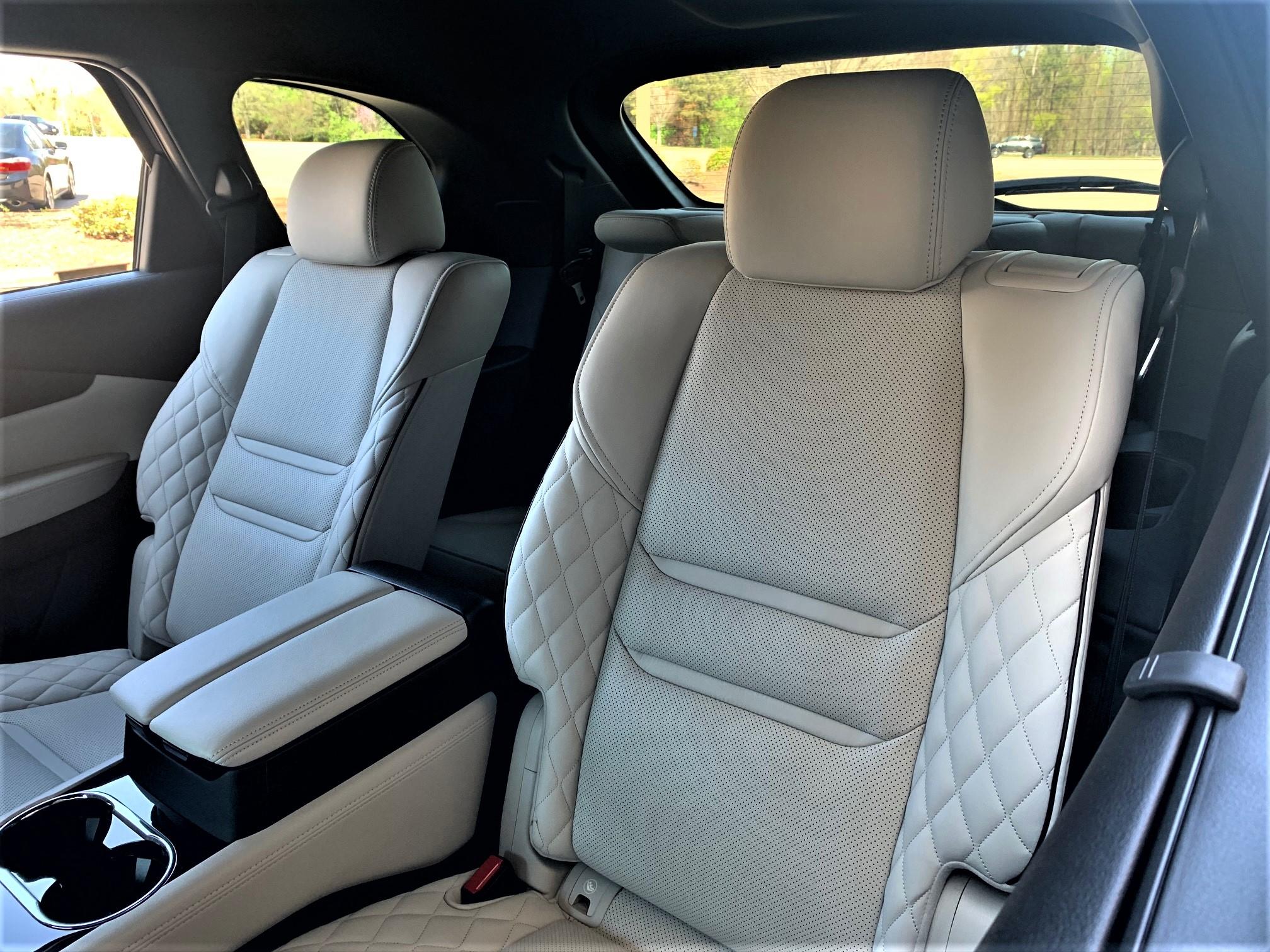 Mazda CX-9 second-row seats