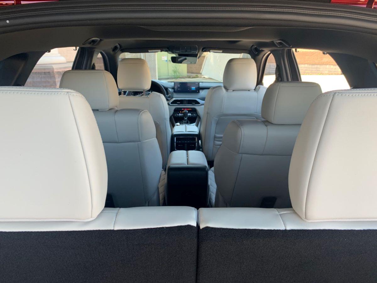 Mazda CX-9 cargo view