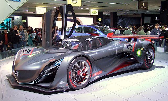 Mazda Furai concept car.