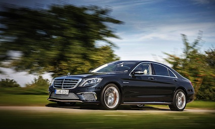 Los Angeles Auto Show debut for the Mercedes-Benz S65 AMG.