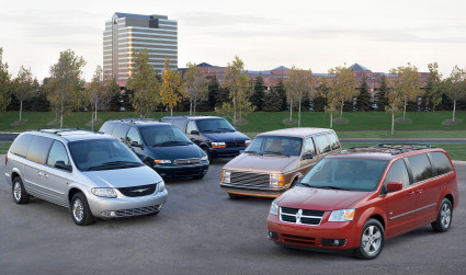 Chrysler minivans: Made in Canada.