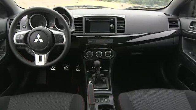 Mitsubishi Lancer Final Edition Interior