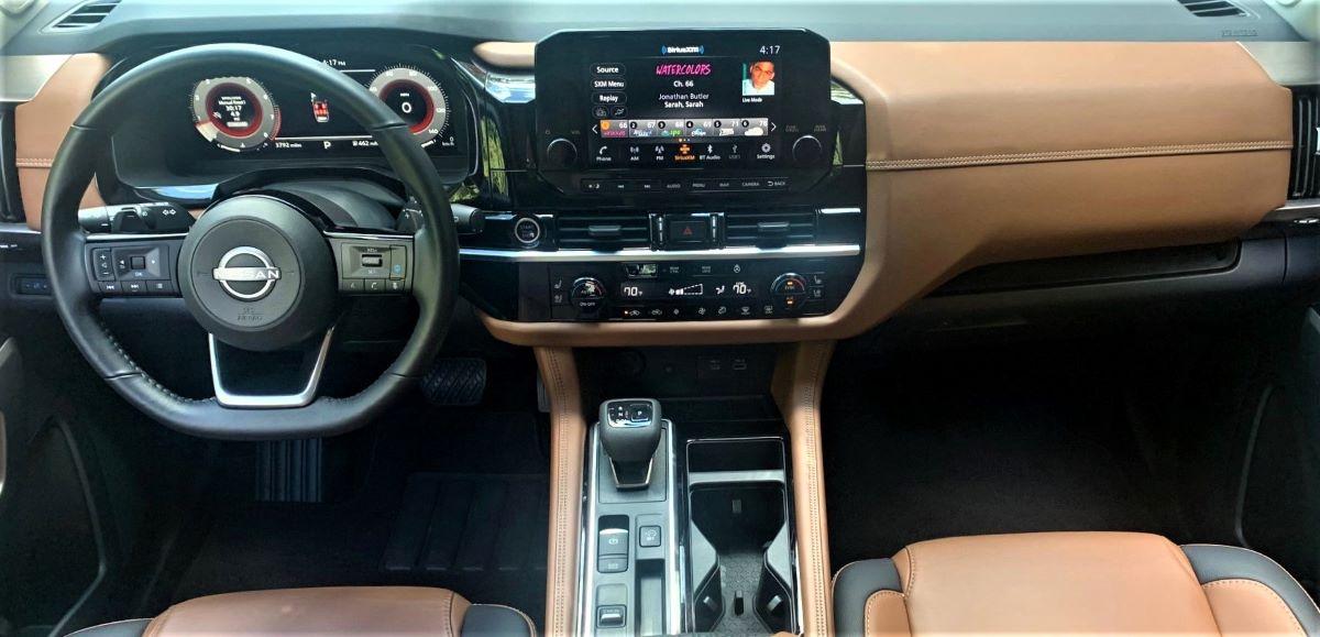 2022 Nissan Pathfinder engine