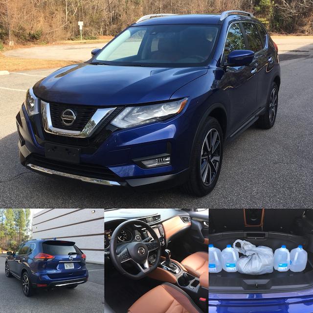 2018 Nissan Rogue SL AWD.