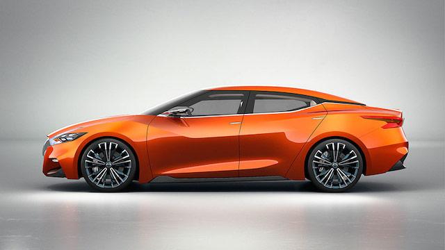 Nissan Sports Sedan Concept -- Nissan Maxima