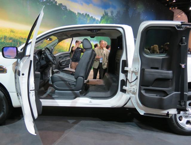 Nissan Titan King Cab.