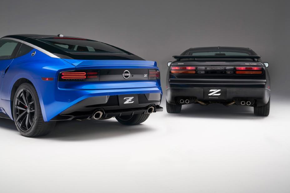 2023 Nissan Z rear