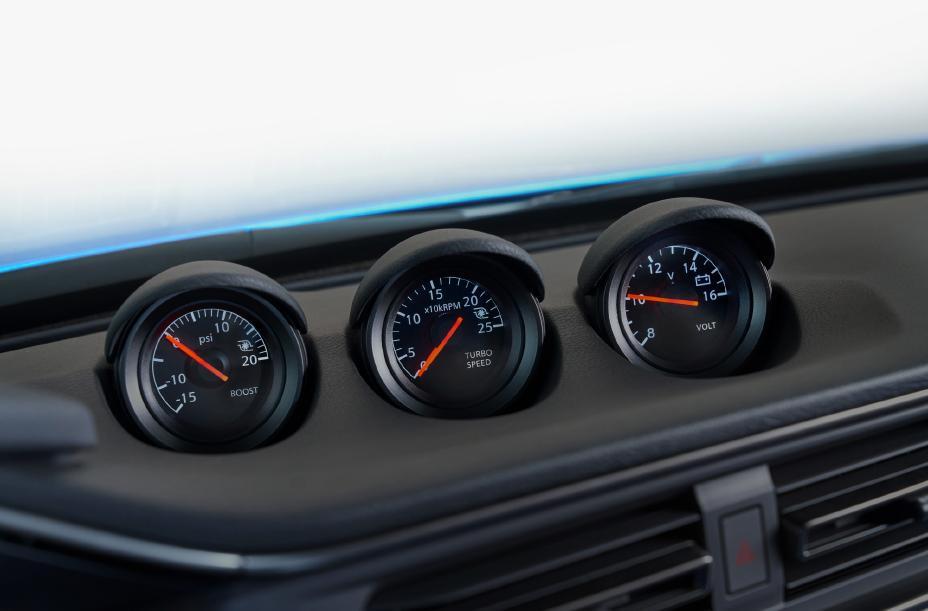 2023 Nissan Z gauges
