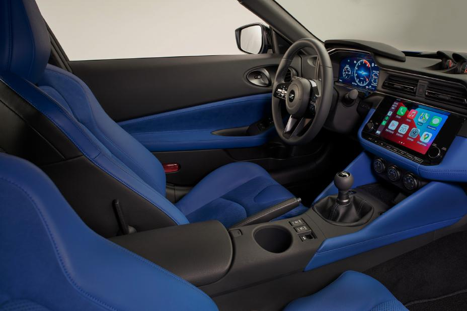 2023 Nissan Z front seats
