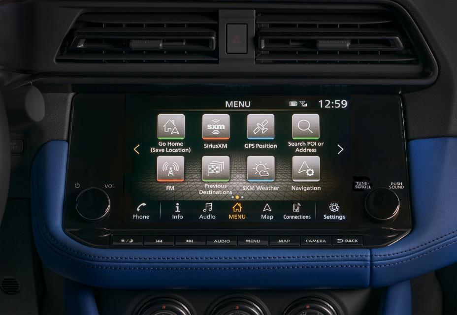 2023 Nissan Z screen