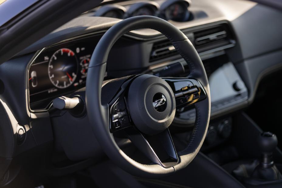 2023 Nissan Z steering wheel