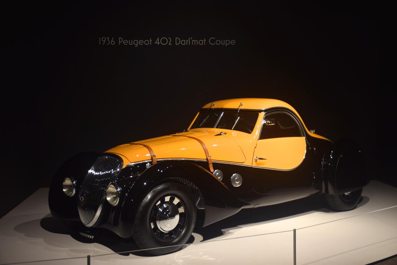 1936 Peugeot 402 Darl'mat Coupe.
