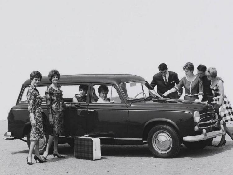 European Peugeot Estate Classic