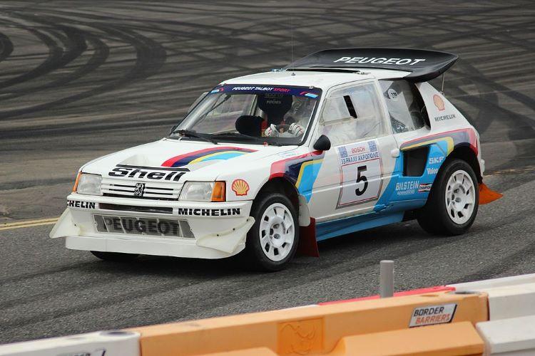 European Peugeot Talbot Sport 205