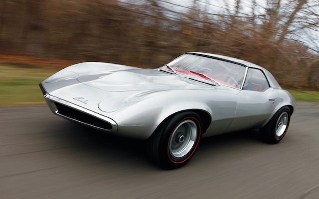 Pontiac Banshee concept car.